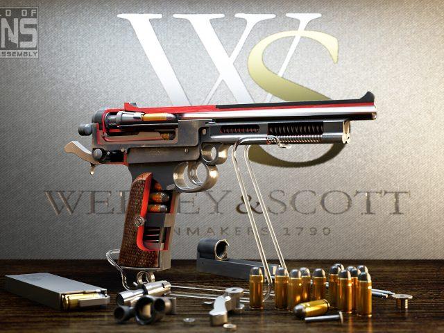 Mars Automatic Pistol